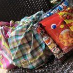 あづま袋 お菓子付き